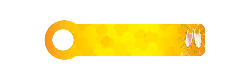 Yellow wine glasses